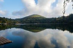 Monticolo湖  库存图片