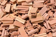 Monticule de briques Photo libre de droits