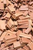 Monticule de briques Photo stock