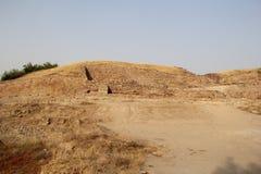 Monticule de citadelle de Dholavira image stock