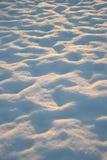 Monticules de neige Photos libres de droits
