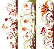 Montieren Sie Blumenfeld vektor abbildung