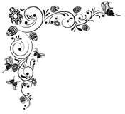 Montieren Sie Blumenhintergrund vektor abbildung