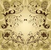 Montieren Sie Blumenrand stock abbildung