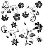 Montieren Sie Blumenrand Stockbilder