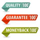 Montieren Sie Qualitätszeichen stock abbildung