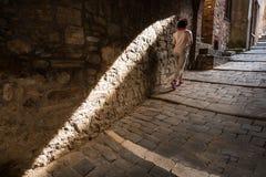 Montieri, Гроссето, Тоскана - Италия стоковые фотографии rf