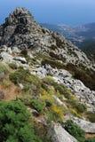 Montierung Capanne auf Elba-Insel Lizenzfreie Stockfotografie