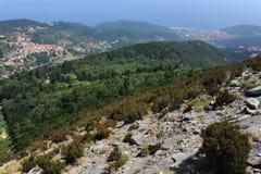 Montierung Capanne auf Elba-Insel Lizenzfreies Stockfoto