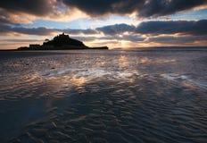 Montierung Cornwall Großbritannien Str.-Michaels Stockbild