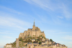 Montierung des Mont Saint Michel, Frankreich Lizenzfreie Stockbilder