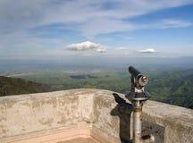 Montierung Diablo und Teleskop Stockfoto