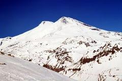 Montierung Elbrus. Stockfotos