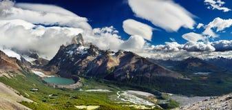 Montierung Fitz Roy, Patagonia, Argentinien Stockfotos
