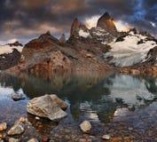 Montierung Fitz Roy, Patagonia, Argentinien Lizenzfreies Stockfoto