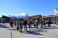 Montierung Fuji Stockbild