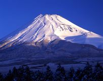 Montierung Fuji CXXII Stockbild