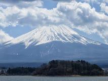 Montierung Fuji in Japan Stockbild
