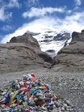Montierung Kailash Stockbilder