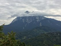 Montierung Kinabalu Stockfotos