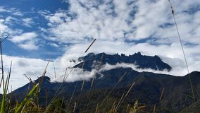Montierung Kinabalu stock video footage