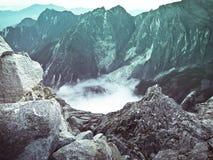 Montierung Kinabalu Stockfoto