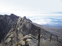 Montierung Kinabalu Stockbild