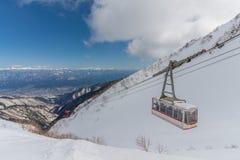 montierung Kiso-Komagatake, zentrale Alpen, Nakano, Japan Lizenzfreies Stockbild