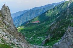 montierung Kiso-Komagatake, zentrale Alpen, Nakano, Japan Lizenzfreie Stockfotos