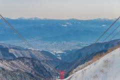 montierung Kiso-Komagatake, zentrale Alpen, Nakano, Japan Stockfotos