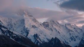 Montierung Masherbrum (K1), Karakorum, Pakistan stockfotos