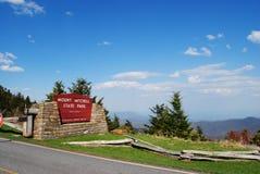 Montierung Mitchell Nationalpark Stockbilder