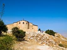 Montierung Nebo, Jordanien Lizenzfreie Stockbilder