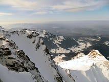 Montierung Pilatus und die Schweizer Alpen Lizenzfreie Stockbilder