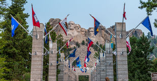 Montierung rushmore nationales Denkmal Lizenzfreie Stockbilder