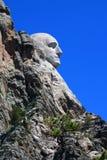 Montierung Rushmore Profil-Ansicht Stockfotos