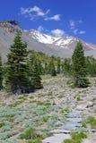 Montierung Shasta, Kalifornien, USA Stockbild