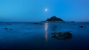 Montierung Str.-Michaels, Cornwall Lizenzfreie Stockfotos
