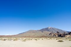 Montierung Teide in Tenerife Lizenzfreie Stockfotos