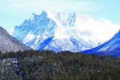 Montierung Zugspitze Stockfoto