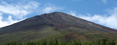 Montierungfuji-Gipfel stockfotos