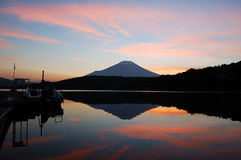 Montierungfuji-Sonnenuntergang Lizenzfreies Stockbild