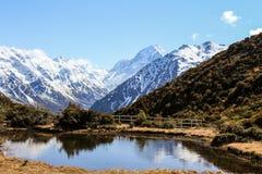 Montierungs-Koch, Neuseeland Stockbilder