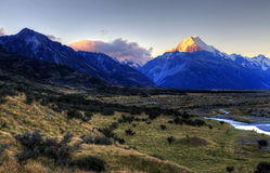 Montierungs-Koch, Neuseeland Lizenzfreie Stockbilder