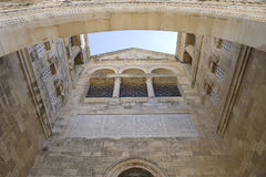 Montierungtabor-Kirche Stockfoto