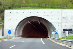 Montjézieu tunnel royaltyfria foton