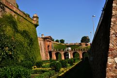 Montjuïc Castle Royalty Free Stock Photography