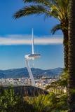 Montjuïc Communications Tower Stock Image