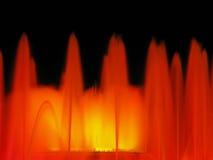 montjuic喷泉的魔术 免版税库存图片