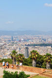 Montjuic castle, Barcelona Royalty Free Stock Image